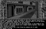 Lancelot Atari ST The streets of Camelot (Monochrome)