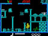 Frightmare ZX Spectrum This monster dissolves into bubbles, but regenerates in just a few seconds.