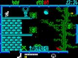 Frightmare ZX Spectrum Only passed a few screens so far and already down to my last life.