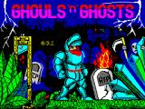 Ghouls 'N Ghosts ZX Spectrum Loading screen