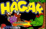 Hägar The Horrible Amiga Title screen