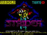 Strider 2 ZX Spectrum Loading screen