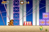 Garfield and his Nine Lives Game Boy Advance At the circus