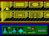 I-Alien ZX Spectrum Level 1 of the game starts here. the Q key immediately quits the game