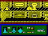I-Alien ZX Spectrum Alien's only weapon is the goo he spits out. This kills most enemies but costs energy