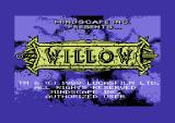 Willow Commodore 64 Title screen