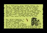Willow Commodore 64 Part of the scroll that tells the story