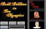 Sex Olympics Atari ST Title screen