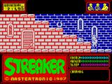 Streaker ZX Spectrum You started naked