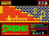 Streaker ZX Spectrum A shady character