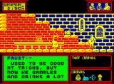 Streaker ZX Spectrum Examining the thief