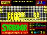 Streaker ZX Spectrum In a locker room