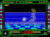 Galaxy Force II ZX Spectrum Different enemies but the ship is still hard to make out