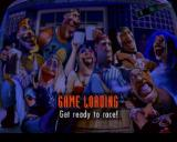 Road Rash PlayStation Game load screen.