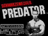 Predator ZX Spectrum Loading screen