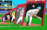 Baseball Heroes Lynx Title screen