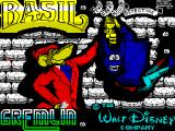 Basil the Great Mouse Detective ZX Spectrum Loading screen