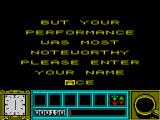 Basil the Great Mouse Detective ZX Spectrum Name entry