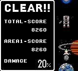 Halley Wars Game Gear Score points to repair Earth