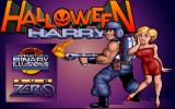 Alien Carnage DOS Title Screen of Halloween Harry (Taken from the website of Gee Whiz! Entertainment)
