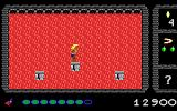 Dark Ages: Volume I - Prince of Destiny DOS Small platforms before a curtain of lava