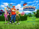 3D Ultra Mini Golf Adventures Windows The main menu screen