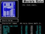 Tales of the Unknown: Volume I - The Bard's Tale ZX Spectrum The party exits the guild and is in the street. These are dangerous times, there could be trouble ahead.