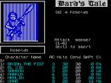 Tales of the Unknown: Volume I - The Bard's Tale ZX Spectrum ... that means his attack is against a specific member, not of the Kobold group but of his own team