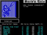 Tales of the Unknown: Volume I - The Bard's Tale ZX Spectrum When actions the every member of the party have been entered the player is asked to confirm they are OK