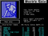 Tales of the Unknown: Volume I - The Bard's Tale ZX Spectrum .. then the party was attacked by a mad dog