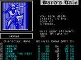 Tales of the Unknown: Volume I - The Bard's Tale ZX Spectrum ... attacked by a Nomad ...