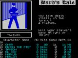 Tales of the Unknown: Volume I - The Bard's Tale ZX Spectrum ...and the last member of the party ran into some thieves, but it could just as easily have been skeletons, ogres or something else