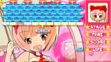 Hello Kitty to Issho! Block Crash 123!! PSP The star blocks shoot at you. It may look cute, but this game is unforgiving!