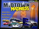 Midtown Madness Windows Main menu