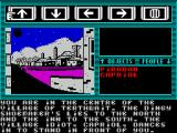 Majik ZX Spectrum Continuing to the right Piradon enters the village of Terthwait. A new name has appeared, Capriol the fool