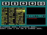Majik ZX Spectrum and now he has used SPEAK to Capriol.