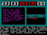Majik ZX Spectrum Turning left Piradon comes to the inn. A traditional source of gossip and information.