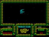 Meganova ZX Spectrum This is the game screen