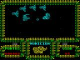 Meganova ZX Spectrum Spaceships fly onto the screen at speed and must be avoided ...