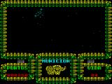 Meganova ZX Spectrum Its best not to be too near the top of the screen when the asteroids come because they seem to target the ship and that costs a life