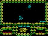 Meganova ZX Spectrum If the player survives the ships and the asteroids then there's some scenery that looks interesting a bit further on
