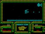 Meganova ZX Spectrum Looks like the star ship Enterprise