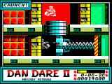 Dan Dare II: Mekon's Revenge ZX Spectrum Dan really really does not want to get caught down here