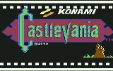 Castlevania Commodore 64 Title