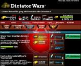 Dictator Wars Browser Missions page, top