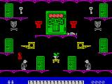 Moonlight Madness ZX Spectrum Contact with a butler costs a life.