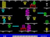 Moonlight Madness ZX Spectrum Its a floating platform screen, only when the player enters they float to a position and then stay there. How to make them move again?