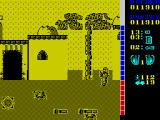 The A-Team ZX Spectrum Here on the ground are a couple of rockets. Fire at them to collect