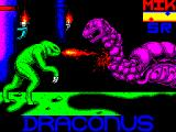 Draconus ZX Spectrum This screen is displayed as the game loads