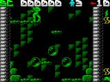 Draconus ZX Spectrum Leaping to the left takes the player down a level